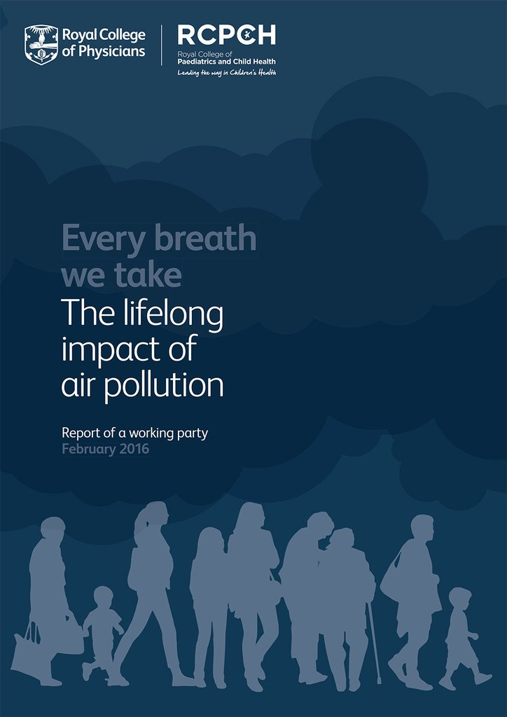 "#EuropeEnvHealth | Report: The Lifelong impact of #AirPollution: ""We must act now"" say Medical Royal Colleges https://t.co/pHTAHO7g92 https://t.co/N6Z0doznF8"