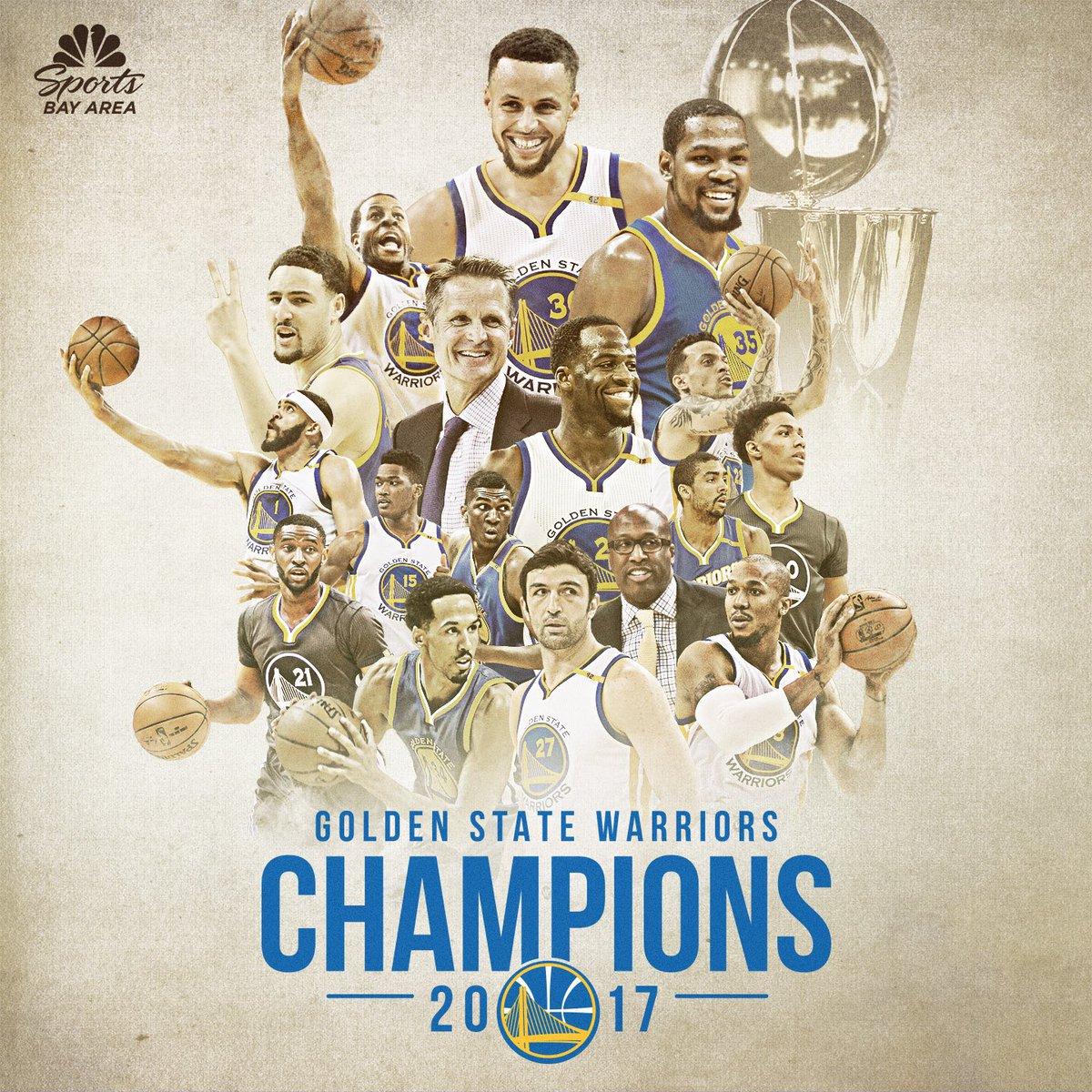 Warriors On Nbcs On Twitter 2017 Nba Champions