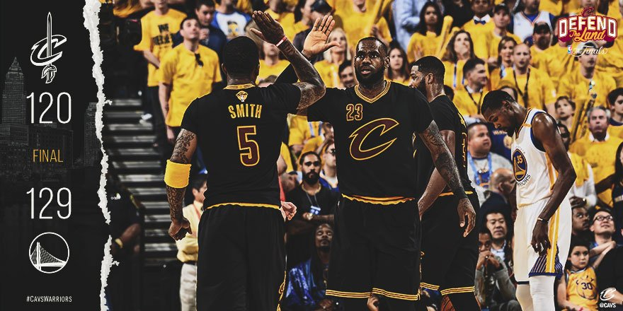 Win or lose, we'll always #DefendTheLand. #NBAFinals BOX: https://t.co/gagr9ZdM1o