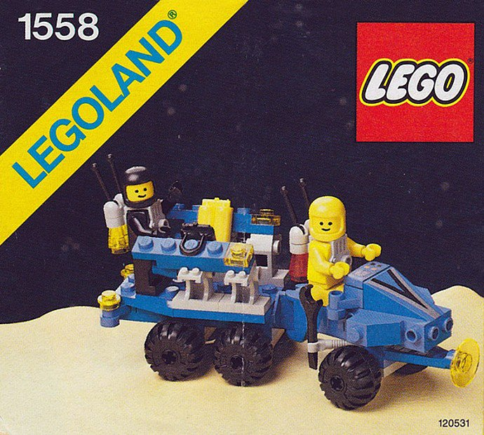 Lego Space Bot On Twitter 1558 1 Mobile Command Trailer 1986