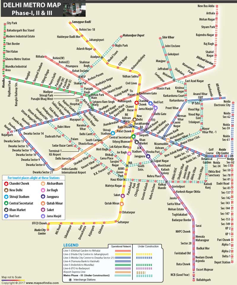 Metro Route Map Download MapsofIndia on Twitter: