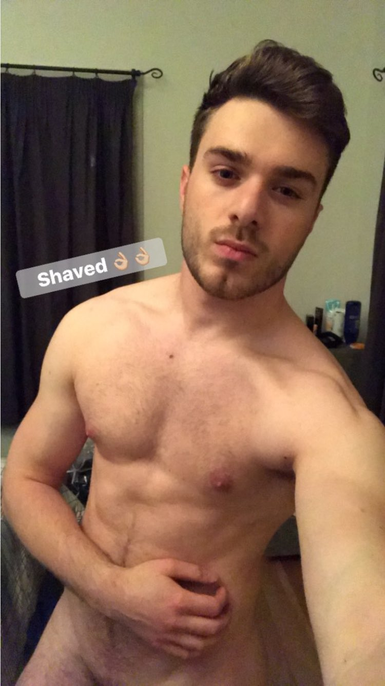 Shaved and hairy cocks