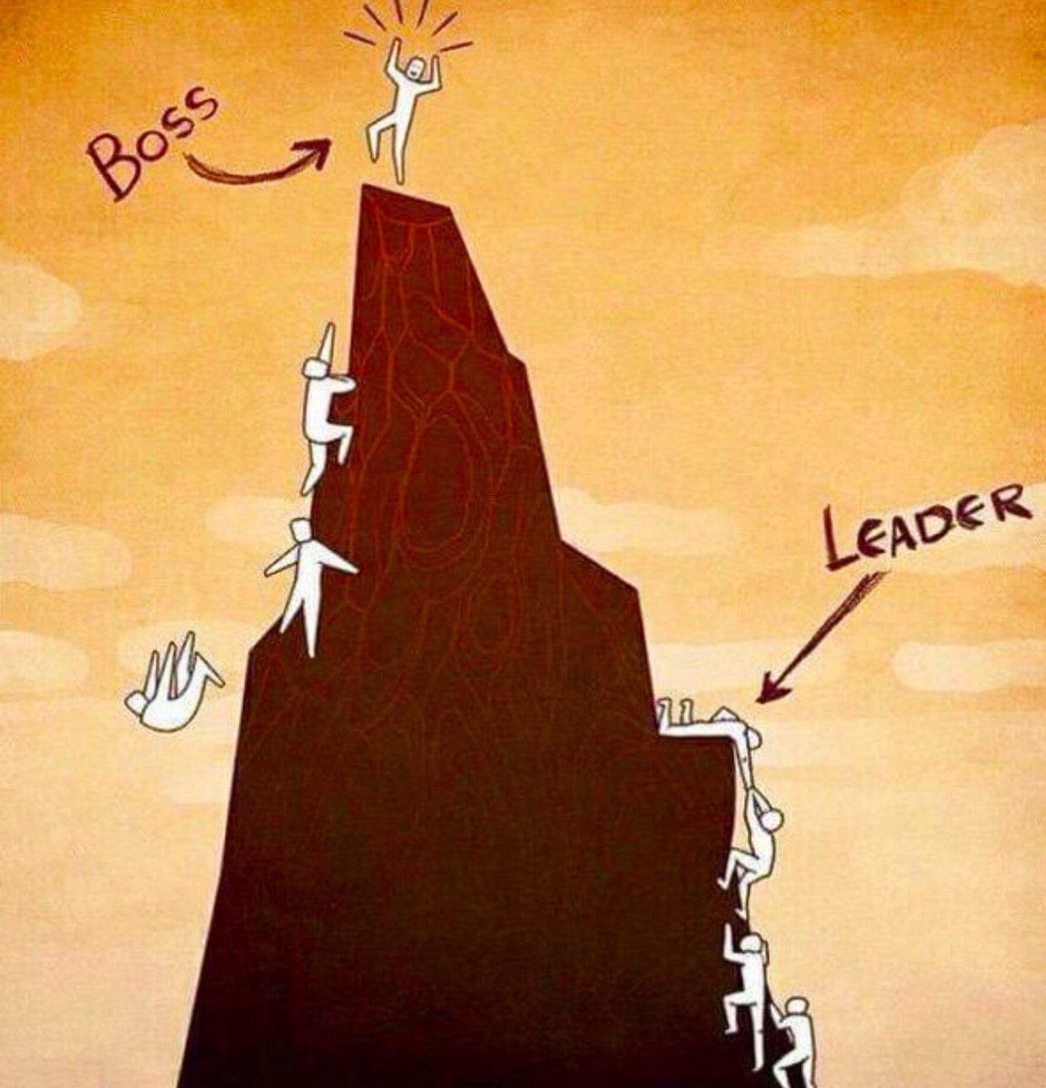 Boss vs Leader @10MillionMiler @DavidKWilliams @fishbowl #Leadership #inspiration RT @therealbanksy https://t.co/kO5pJMklPe