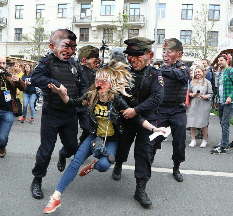 """""""Этот мужичок подошел и ласково сказал, что сломает мне фотоаппарат и лицо"""", - возможно, еще один бывший """"беркутовец"""" """"засветился"""" при разгоне митинга в Москве - Цензор.НЕТ 7261"""
