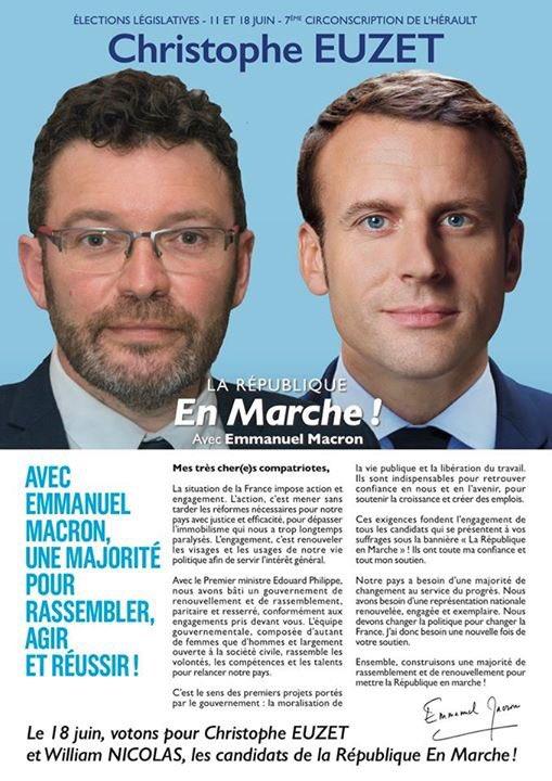 """Résultat de recherche d'images pour """"Christophe Euzet Macron"""""""