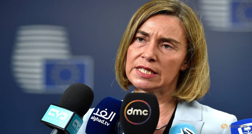 EU's Mogherini confident US will stick to Iran nuclear deal https://t.co/eX1z81w9q4