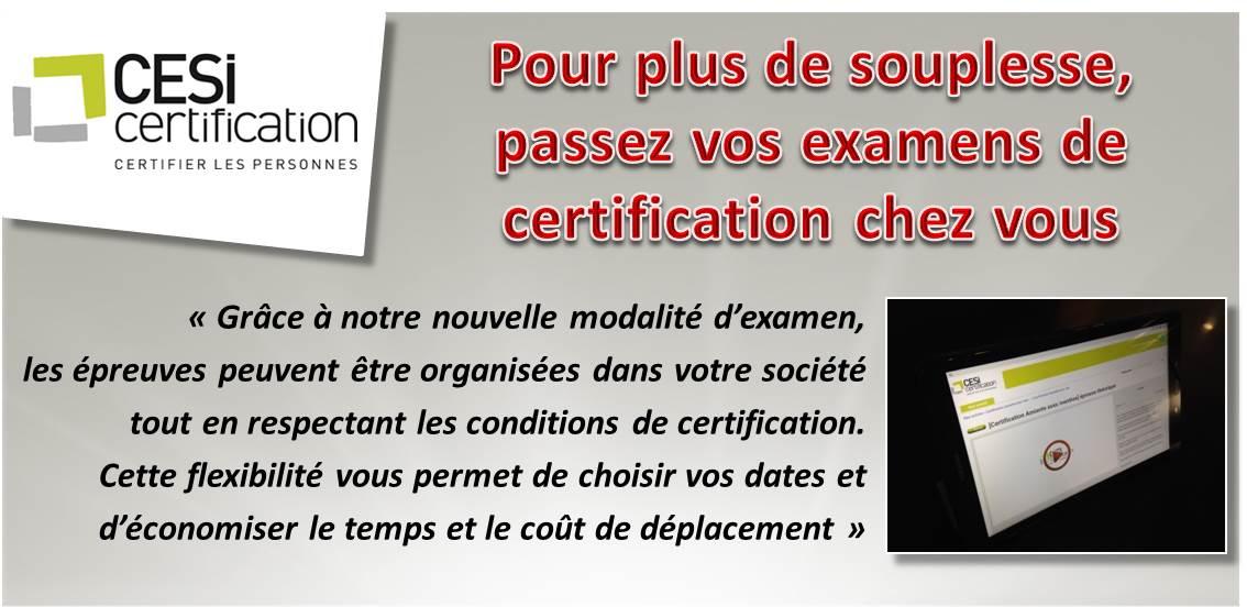 Le comité particulier valide la nouvelle modalité de #certification en INTRA Entreprise @GroupeCESI
