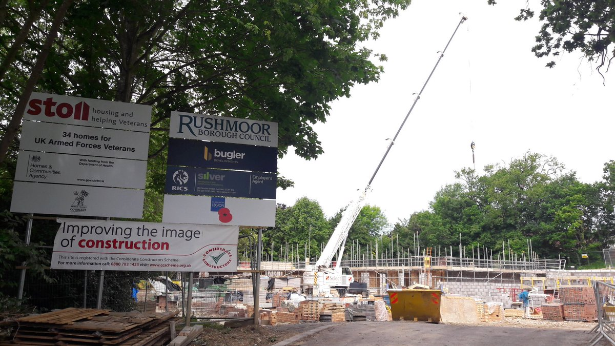 stoll on twitter great seeing the progress on our 34 new homes for