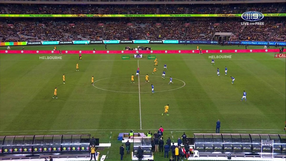 GOAL BRAZIL! In just 13 seconds, Brazil score the first goal of the night. #AUSvBRA #9WWOS https://t.co/9VN7icBCD8