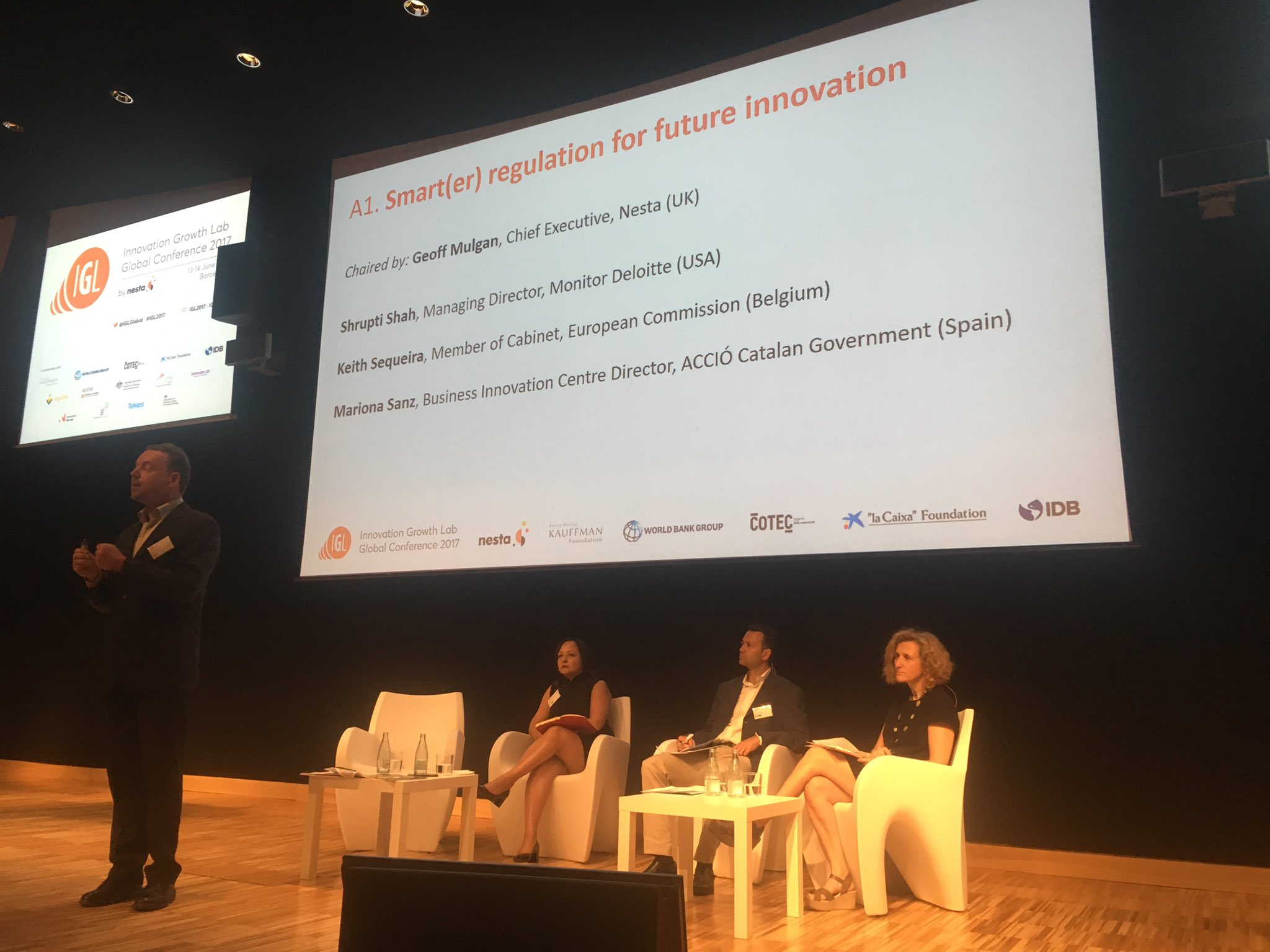 Increasing pace of technological change and regulating too soon, or too late: discussing smarter regulation for future innovation #IGL2017 https://t.co/3WeRrXeTaz