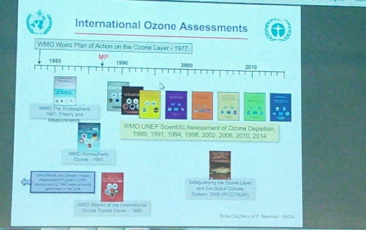 Doug Kinnison tells us about the sheer amount of work that goes into an #ozone assessment @WMO #ccmi2017 https://t.co/QVfnimXnzm
