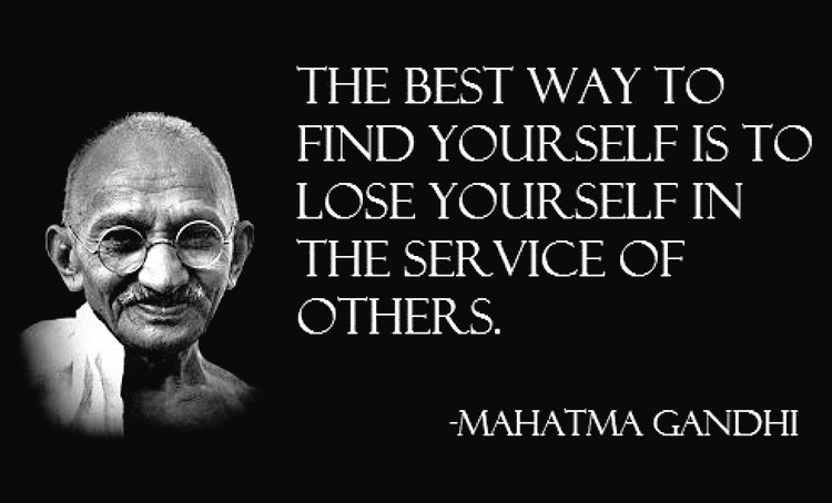 tranformational leadership and mahatma ghandi Transformational leadership has to do with these values and ethics as well as emotions and standards this means transformational leadership is looking to change some powerful ideals this in turn means that these leaders must have some sort of power over people.