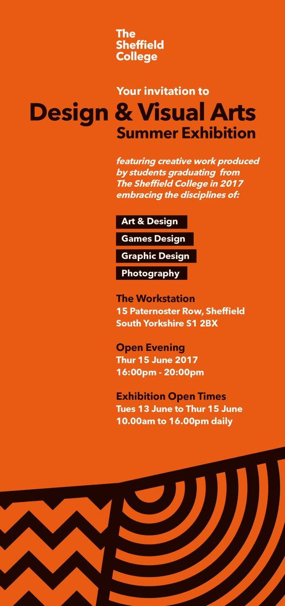 Sheffield College exhibition #sheffcol #artsheffield #inspirebykim next door to #docfest2017 #sheffieldartists<br>http://pic.twitter.com/UMVqEFDzqD