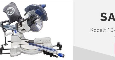 Kobalt Sliding miter saw Manual