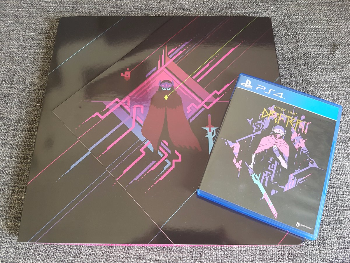 Something was missing   [PATCHED by @Disasterpeace]  #HyperLightDrifter #vinyl #vinyle Details pictures to follow <br>http://pic.twitter.com/FTuNhutHiY