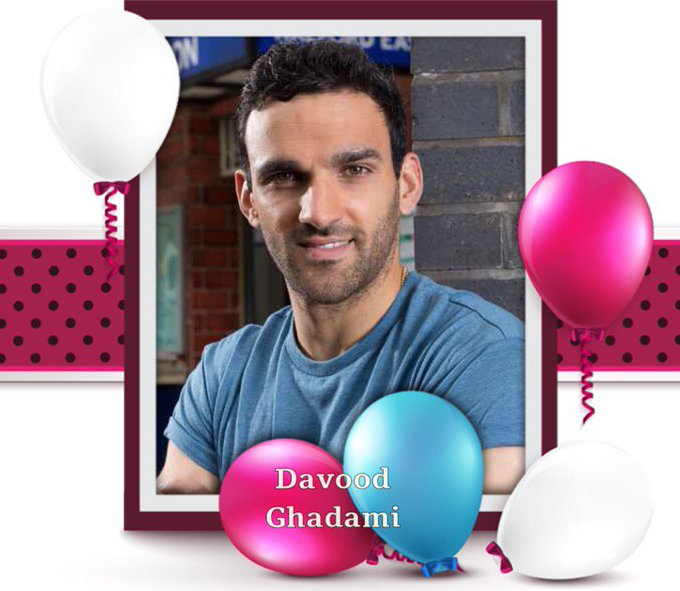 Happy Birthday Davood Ghadami, Jason J Brown, Ricardo Scimeca, Denise Pearson, David Gray & Henry Bond