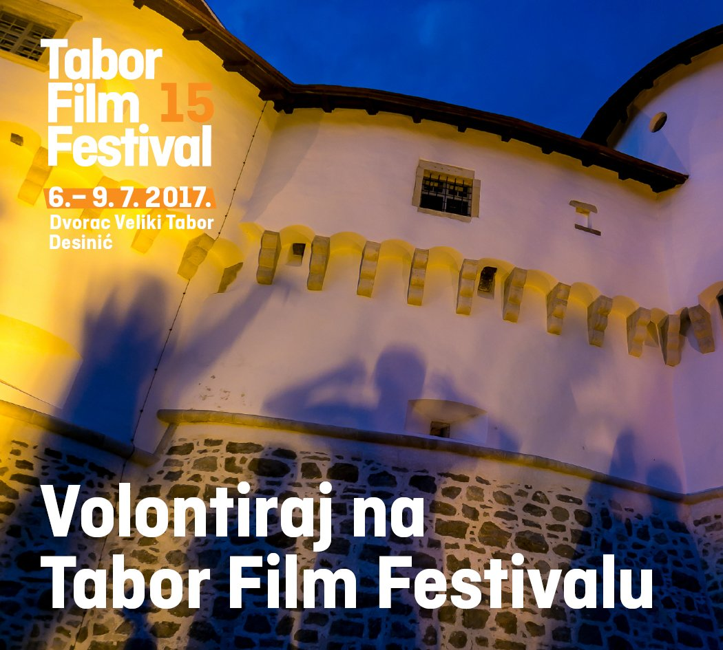 Volontirajte na Tabor Film Festivalu! Prijave do 18.6. na ovim linkovima: SLO: bit.ly/2rmfS1y HRV: bit.ly/2qSB4wI