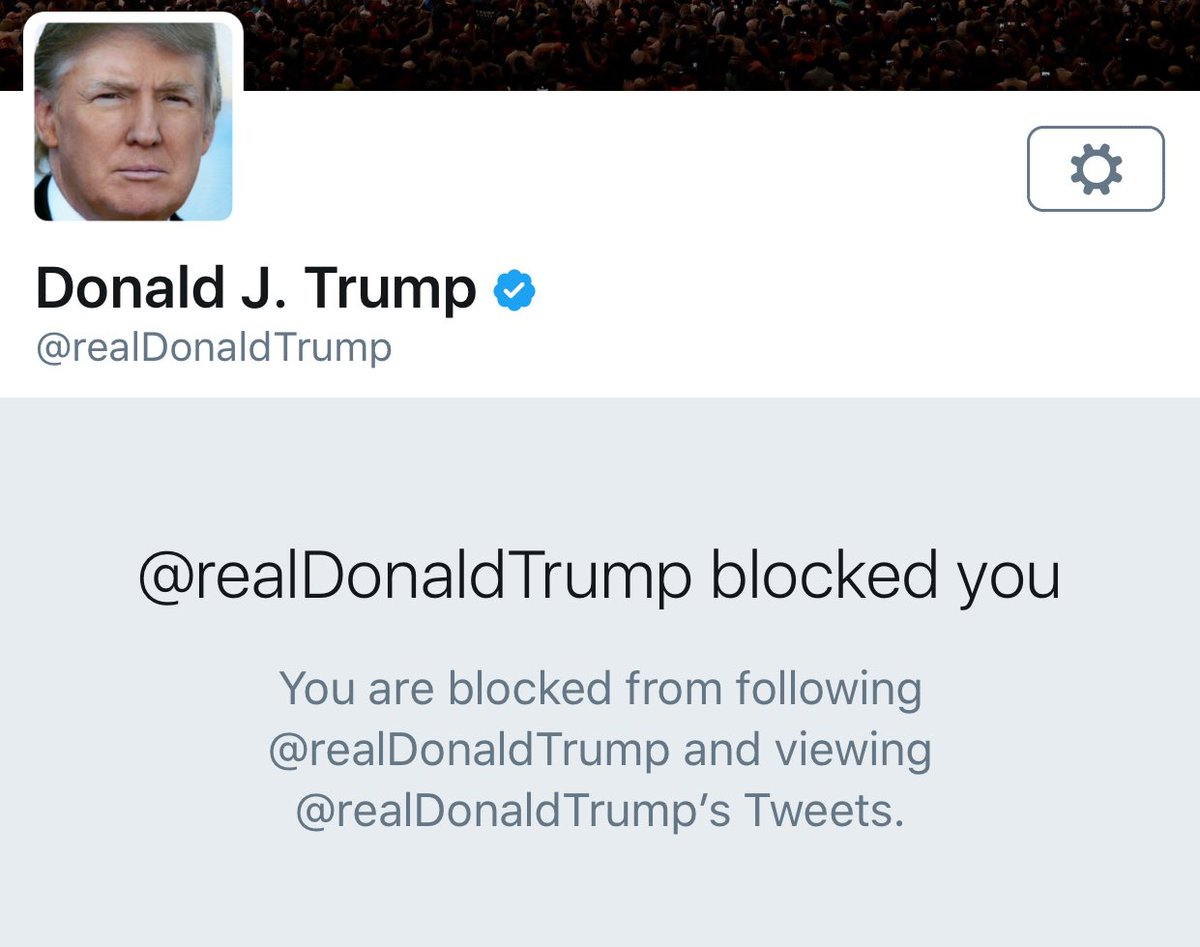 The Commander in Chief can block @VoteVets, the voice of 500k military veterans and families, but we will NOT be silenced.