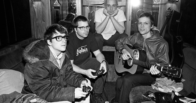 Happy birthday Rivers Cuomo! See a full 1996 show where Weezer previewed \Pinkerton\