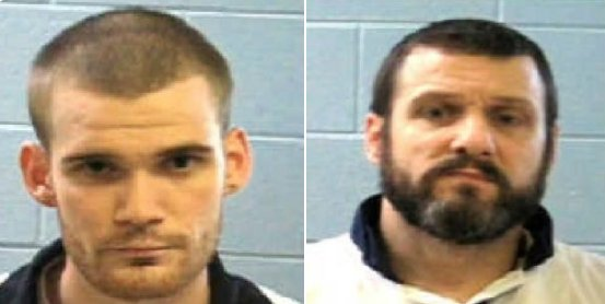 RETWEET PLEASE: Authorities are looking for these two men. They're accused of killing two prison guards in Putnam Co. this morning