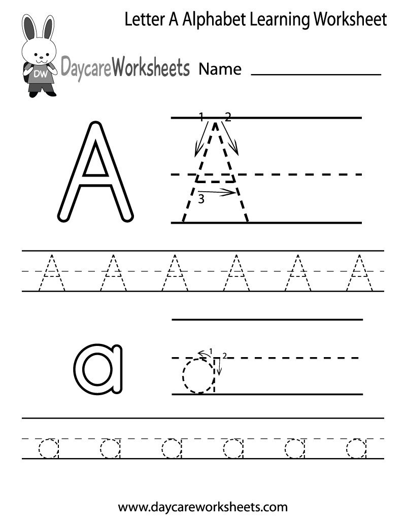 Daycare Worksheets on Twitter: