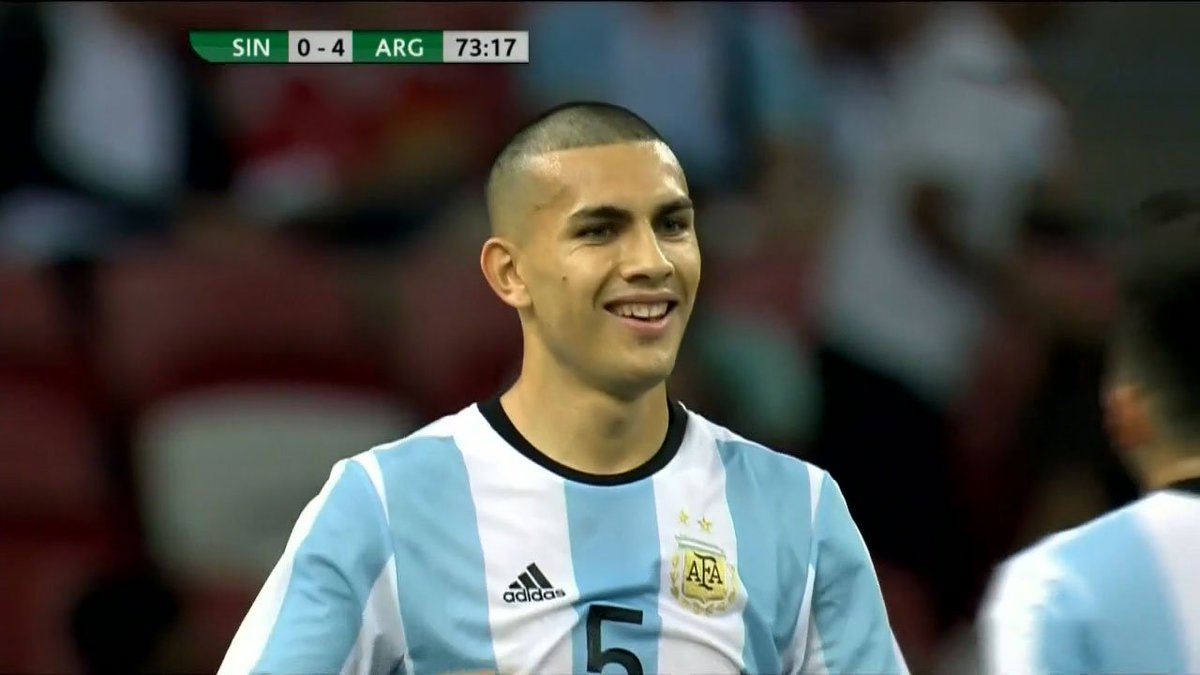 Gol de argentina leandro paredes debuta con la for Leonardo paredes werth