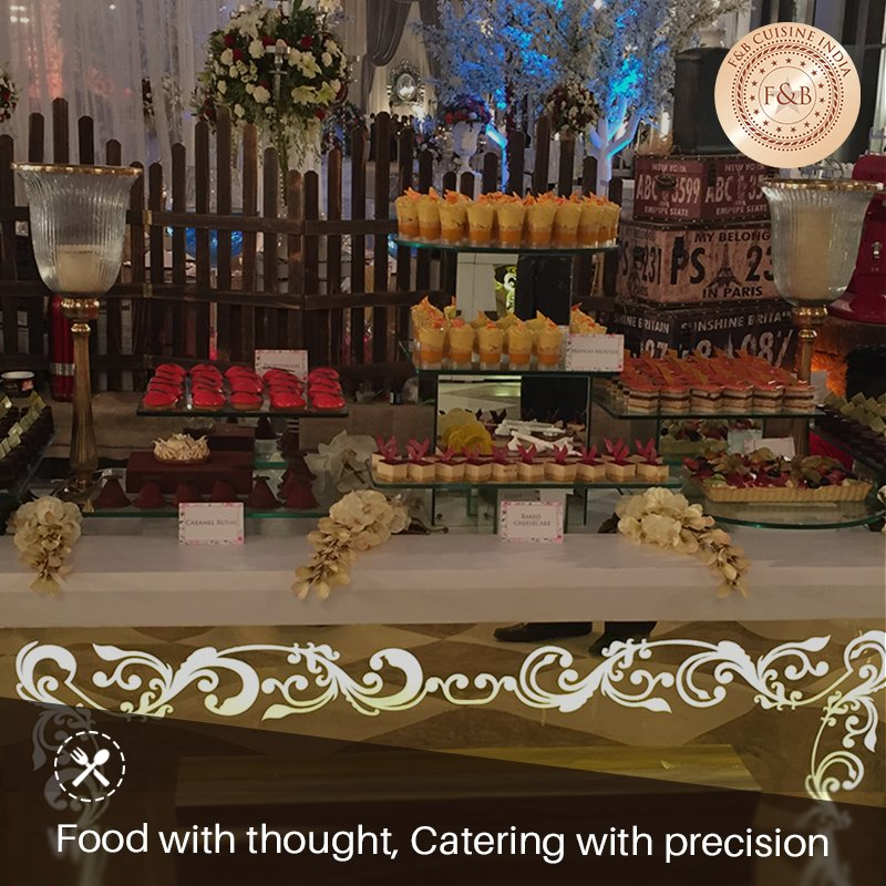 We serve the #cuisines created with thought, gratifying flavors to bring your dream #wedding to life.  Call us for #catering at 9810130012<br>http://pic.twitter.com/5d9S1TMr79