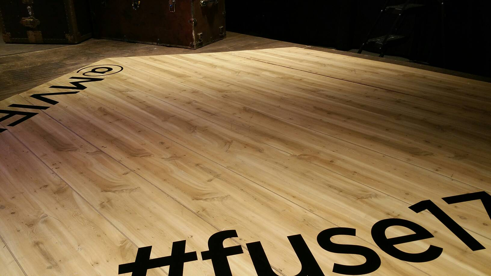 The MoVe Stage is set for #fuse17 - the one-of-a-kind design thinking experience! https://t.co/E3OIDcq2mA