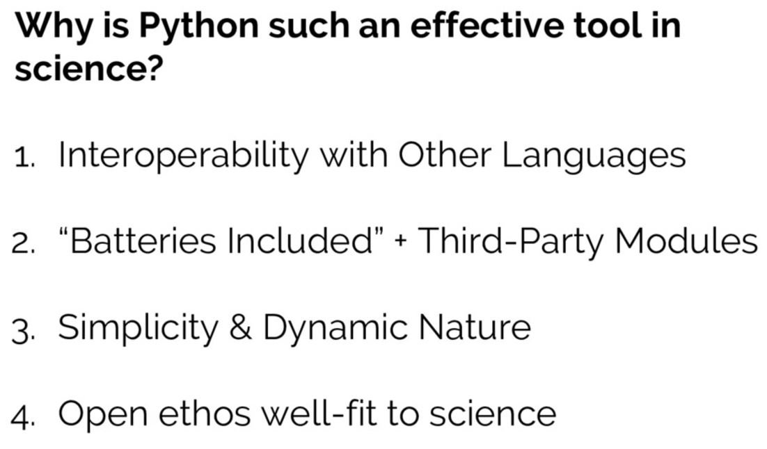 &quot;The Unexpected Effectiveness of #Python in #Science&quot; #Pycon2017 Keynote by @jakevdp  http:// ow.ly/dUAh30ckMCI  &nbsp;  . More at @SciPyConf!<br>http://pic.twitter.com/H2SA0t2YBx