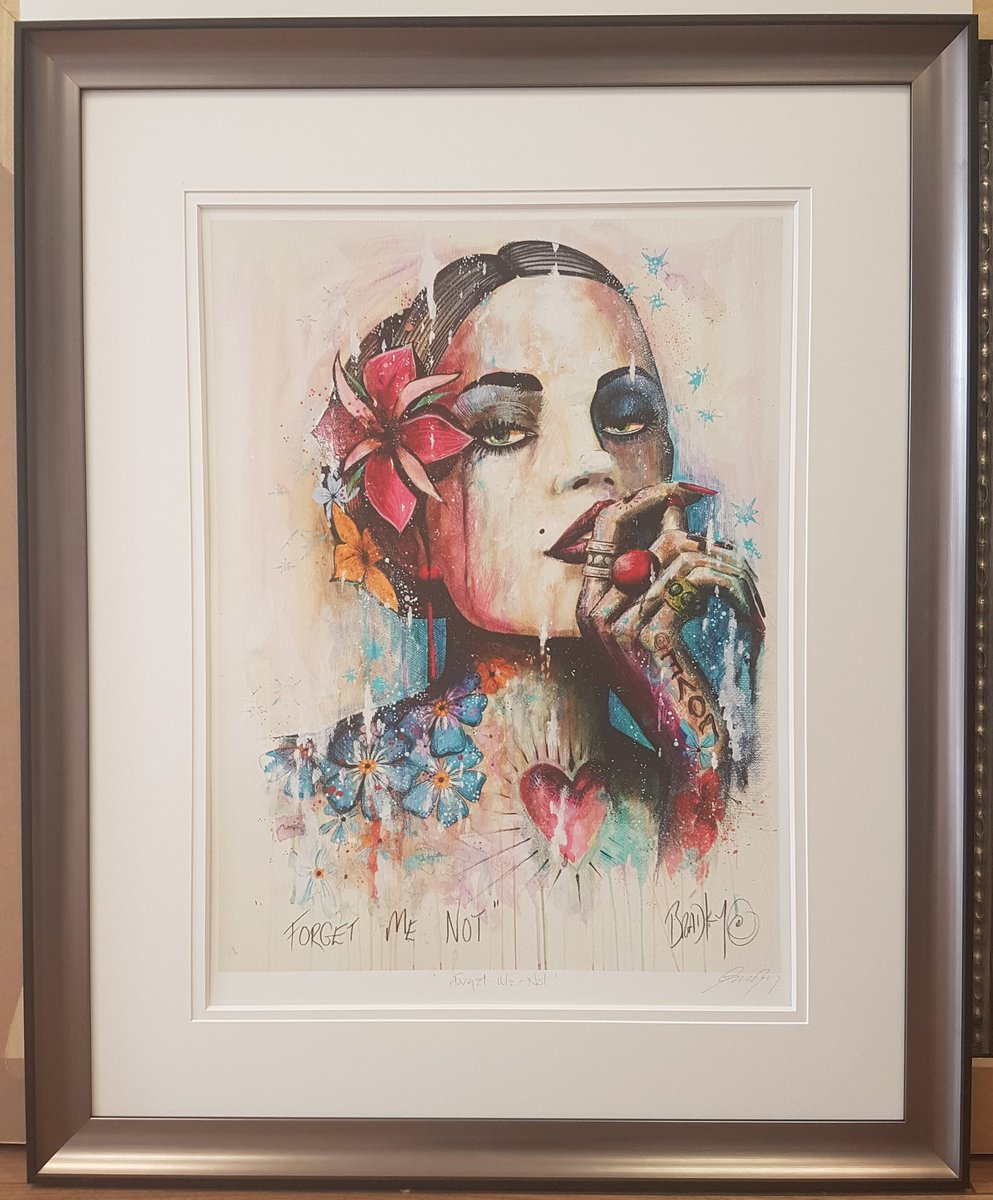 Uptown framing on twitter terry bradley forget me not limited uptown framing on twitter terry bradley forget me not limited edition print framed and in stock bradley belfast artist jeuxipadfo Choice Image