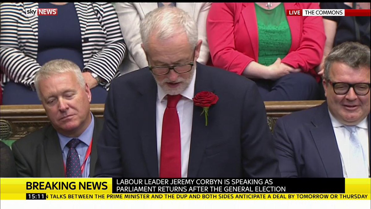 The Labour Party stands ready to provide 'strong and stable' leadership in the nation's interest says @JeremyCorbyn