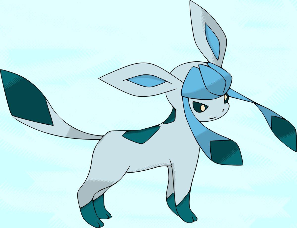 Sogeflo colo on twitter givrali et phyllali pokemon phyllali givrali glaceon leafeon - Givrali pokemon ...