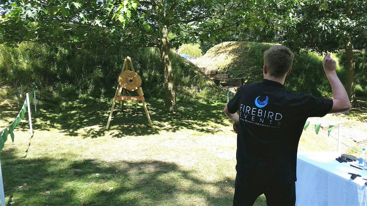RT @FirebirdEvents It's #internationalaxethrowingday & we are at @LoseleyPark with some lucky guests enjoying Axe Throwing #TuesdayMotivation #Eventprofs