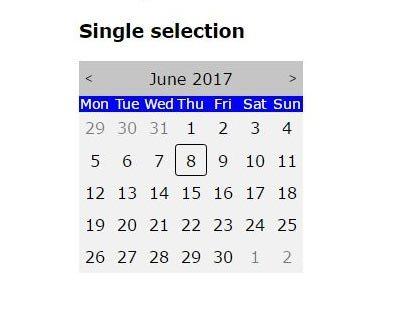 Flexible Datepicker For Angular 2 – ng-imbaDatepicker