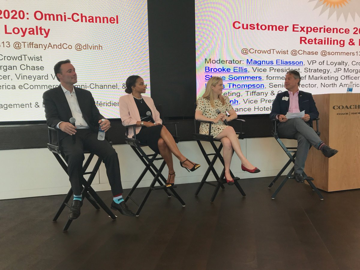 7325d34bdbe Our VP of Loyalty, Magnus Eliasson led a discussion on omnichannel loyalty  and engagement.… https://t.co/PEAOvEL11o