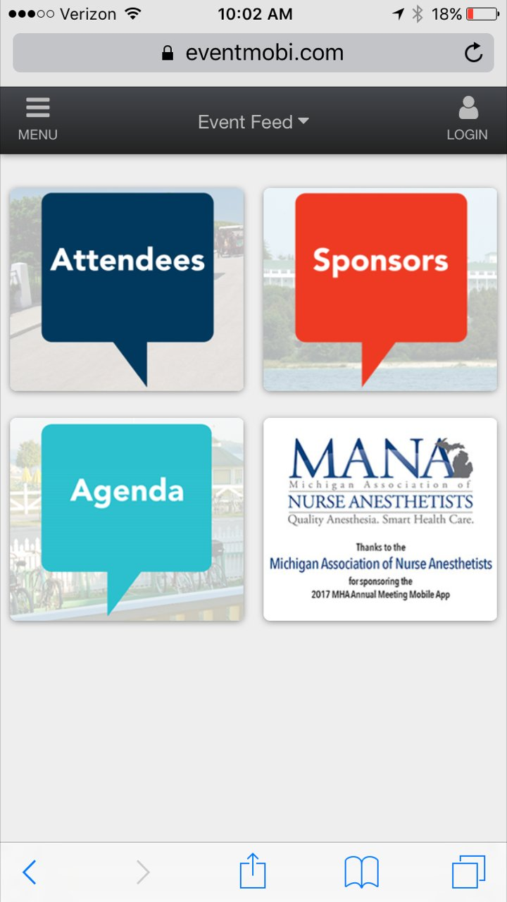 Attending the #MHAannual Meeting? Download the mobile meeting app to see event details, attendees, sponsors & more! https://t.co/GJQXFlMQm3 https://t.co/KLqZqQcgYX