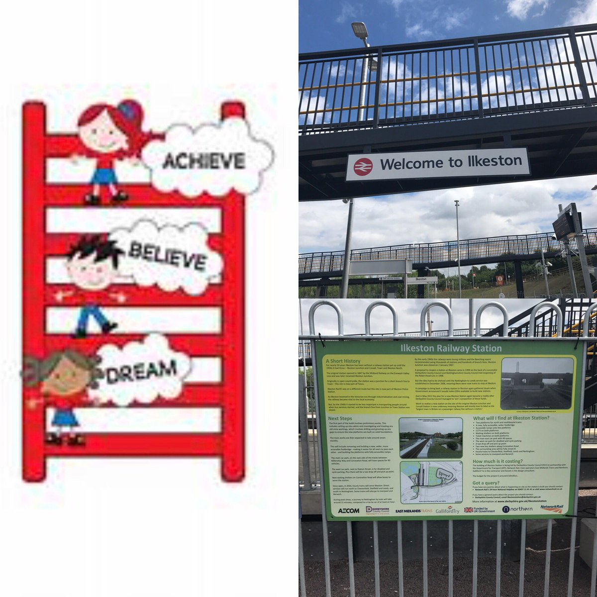 Lots of exciting plans for our new #stationadopters at #Ilkeston @ChaucerJun @KerryLWheatley @EMTrains @ACoRPOffice #communityrail<br>http://pic.twitter.com/8Kdqs1rwjs