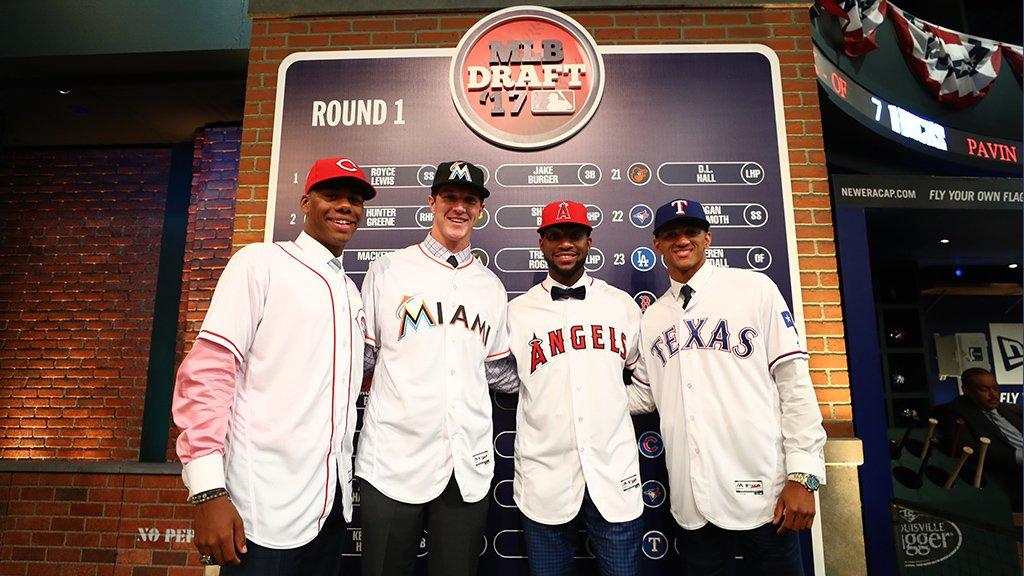 MLB's growing diversity was on display at #MLBDraft last night: atmlb.com/2thRuzj