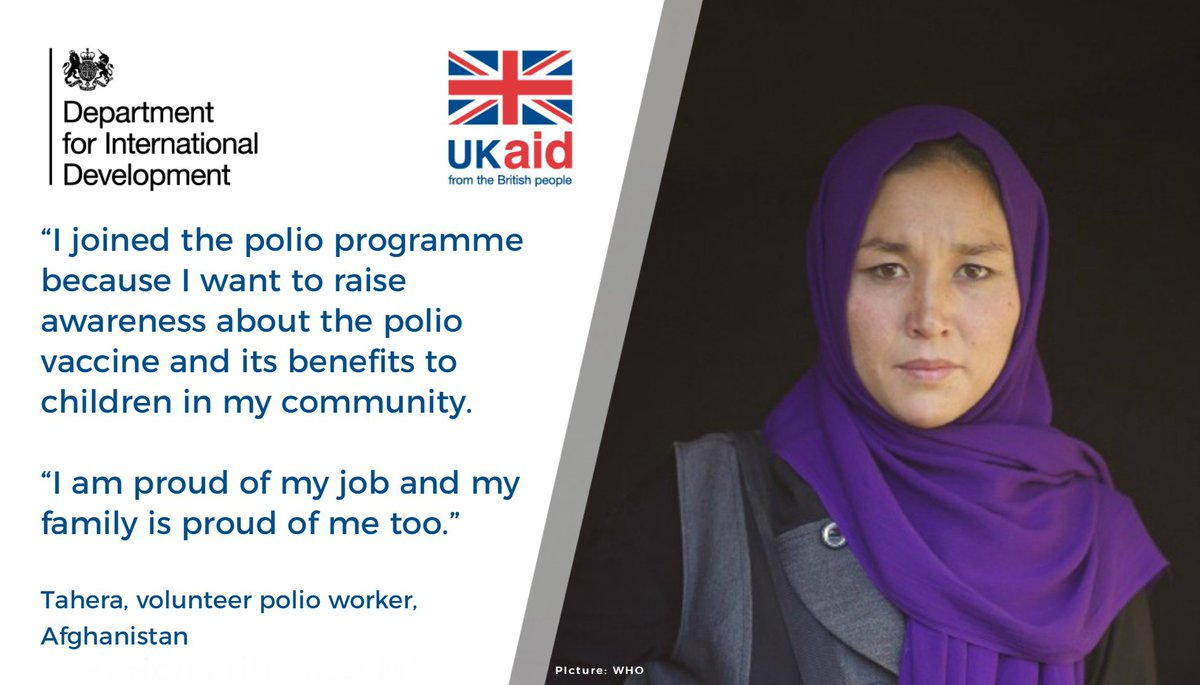 Great savings and offers incommunities - Dfid On Twitter With Support From Ukaid Polio Workers Like Tahera Build Trust In Communities Help Protect Children With Life Saving Vaccines