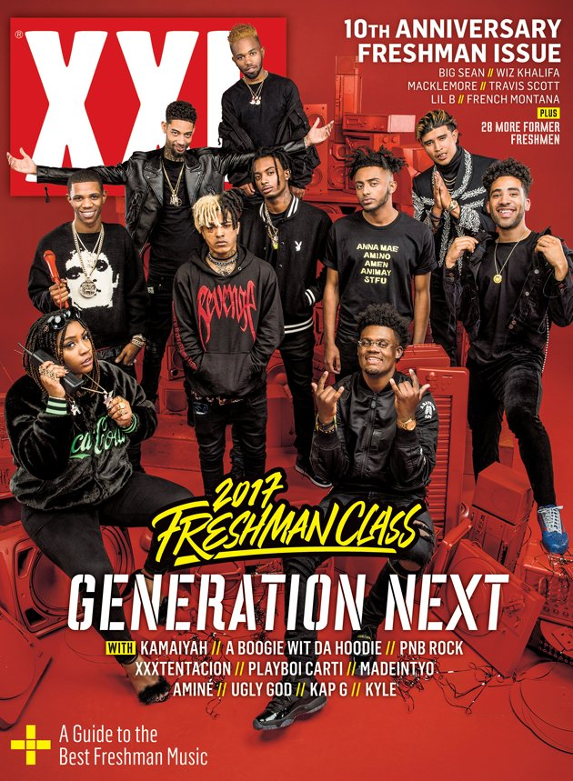 The wait is over. Introducing the 2017 XXL Freshman Class, Generation Next! #XXLFreshmen https://t.co/SueW5esJ1a