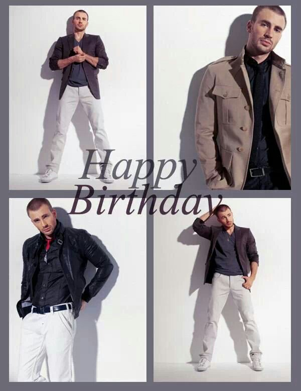 Happy birthday chris evans and my hero captain America and l love you chris and