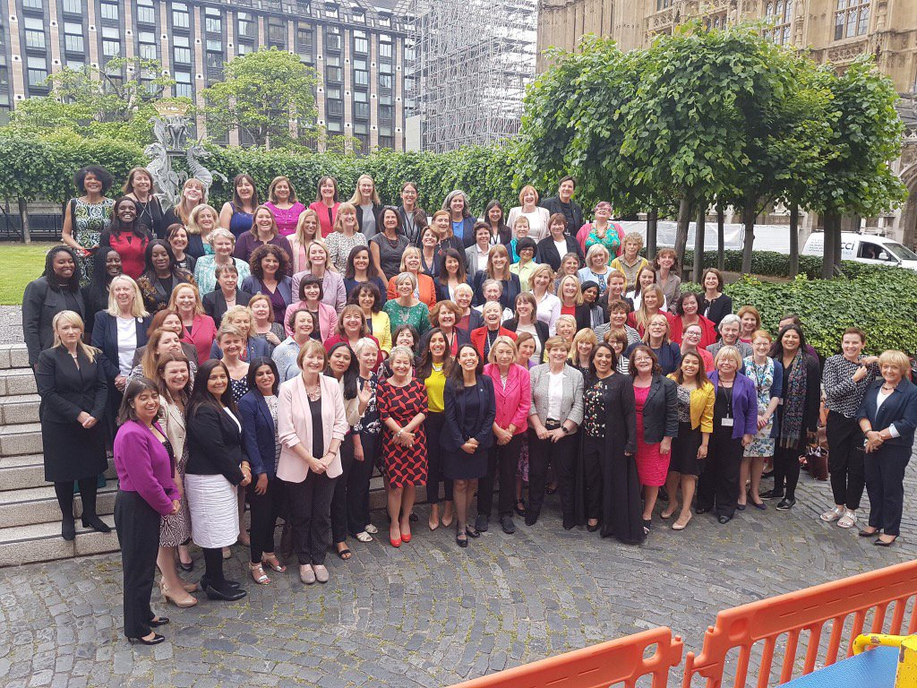 Historic 119 @labour women MPs. Sisters, we have work to do! https://t.co/ku4O7uCThj