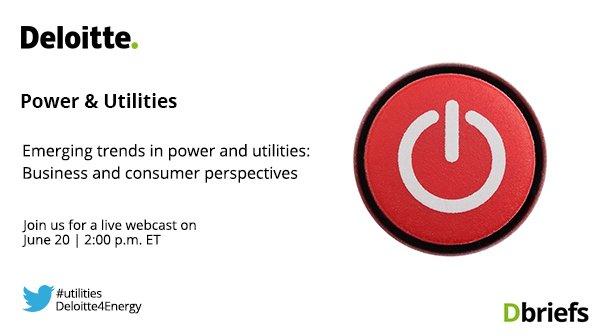 Deloitte U S  Energy on Twitter: