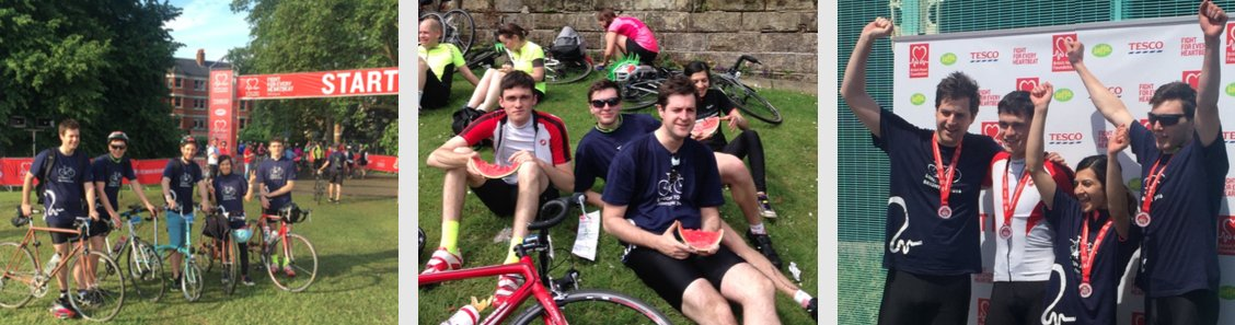 We're cycling from #LondonToBrighton to raise funds for the @TheBHF. Your support is greatly appreciated https://t.co/mlNVlsC1O2