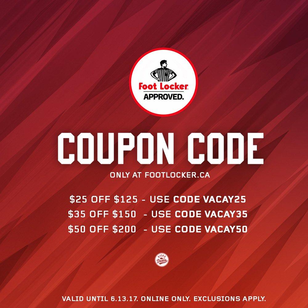 best sneakers 3dc03 0dbee Footlocker.ca Coupon Codes w/ $6 Discount in September 2019 ...