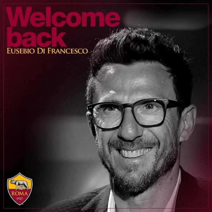 Di Francesco è il nuovo allenatore della Roma al posto di Spalletti
