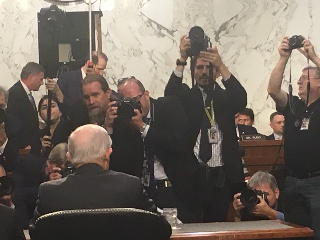 Sessions under scrutiny.