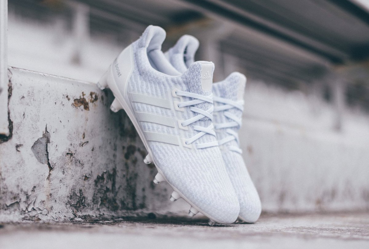 The perfect cleat doesn't exi-  The ⚪️⚪️⚪️ #UltraBOOST Cleat, available 6/16.  #teamadidas