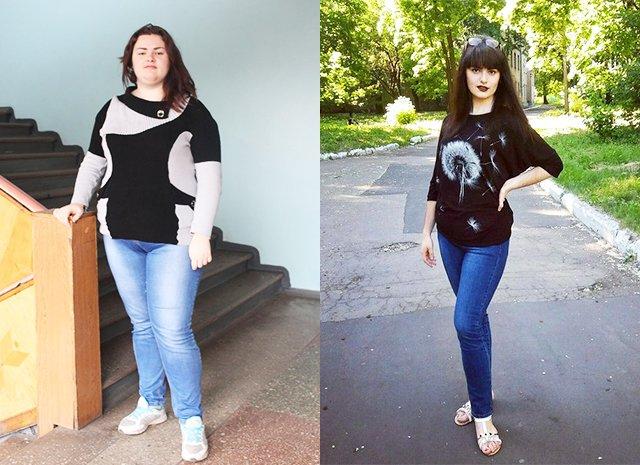 Похудела На 60. История похудения: Аманда похудела на 60 кг без диеты!