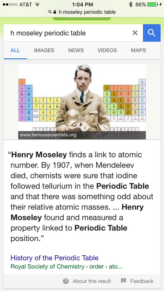 Moseley periodic table images periodic table images history and trends of the periodic table gamestrikefo Images
